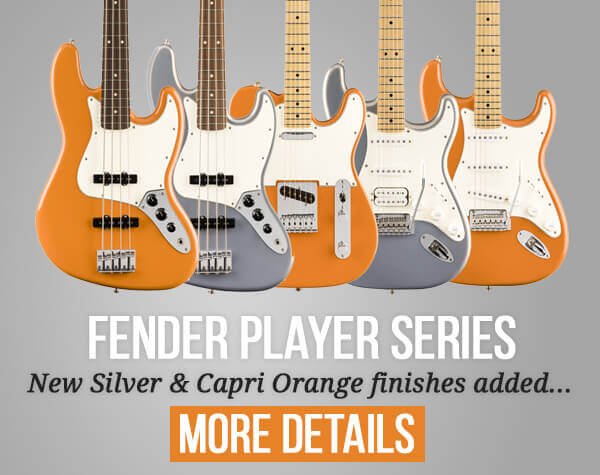 Fender Player Series New Colours