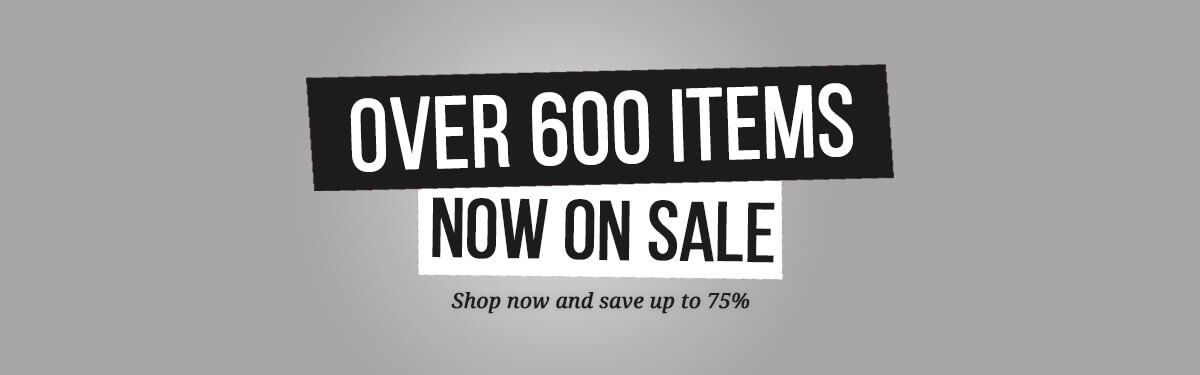 Special Offers – Over 600 Items Now On Sale
